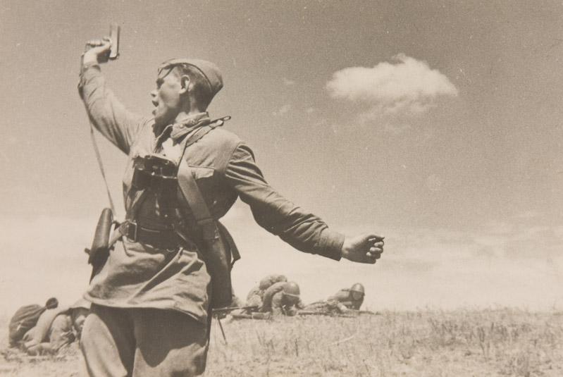 История знаменитой фотографии «КОМБАТ»